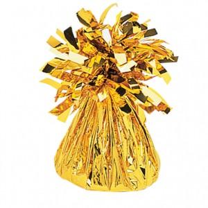 Contrapeso metalizado dorado