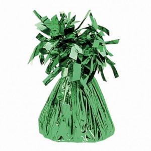 Contrapeso metalizado verde
